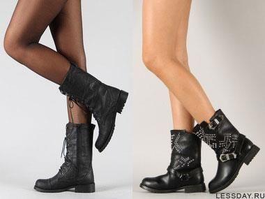 Классические женские зимние ботинки на шнурках