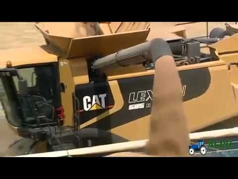 CAT Lexion 500 series   Can you feel it? http://www.agromachinery1.com/video_listing/cat-lexion-500-series-can-you-feel-it/