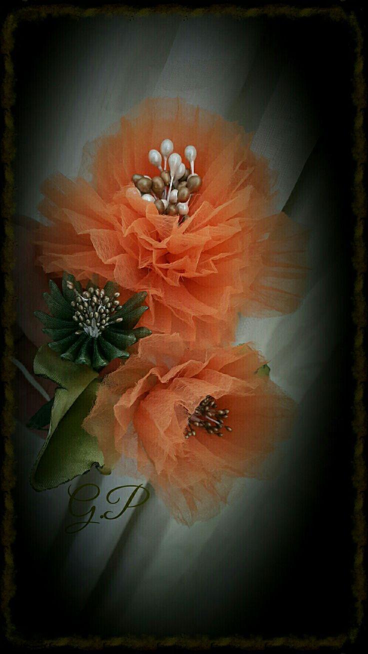 Perde Bağı Çiçeğim
