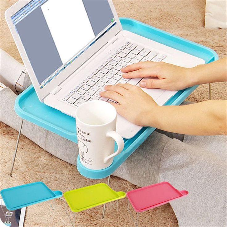 Escritorio plegable de plástico portátil mesa portátil mesa escritorio pequeño escritorio para la cama muebles de oficina