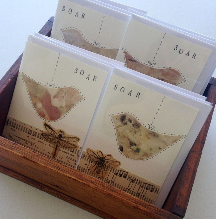 'soar' greeting cards - designed by rita summers