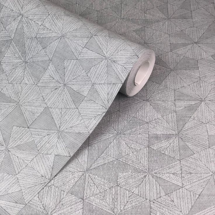 Private Walls Geo Lines Grey Wallpaper. From the Private Walls collection is this visually stimulating geometric in grey.