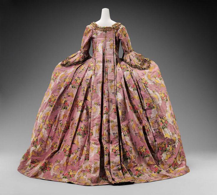 Robe A La Francaise: 17 Best Images About 1770-1779 Women's Fashion On
