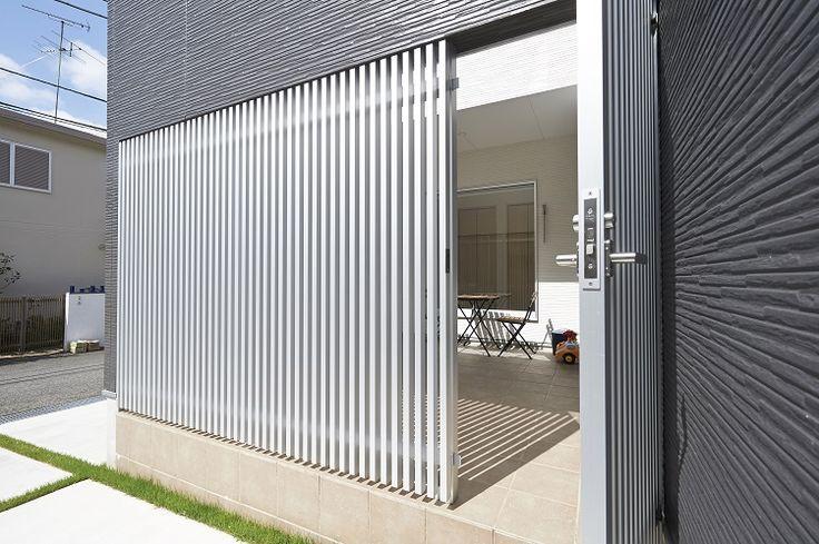 タイルデッキの中庭のある家  作品集   千葉の注文住宅なら スタジオ・チッタ