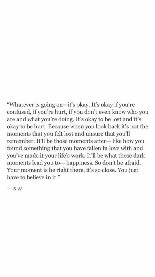 Something to remeber, and I find it to be true ✨