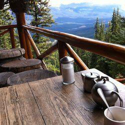 BANFF | Lake Agnes Tea House - Banff National Park, Alberta, Canada. Too bad every hike doesn't have a tea house.