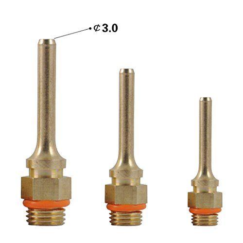BSTPOWER 3pcs/set Interchangeable Nozzle Glue Gun Tips Re...