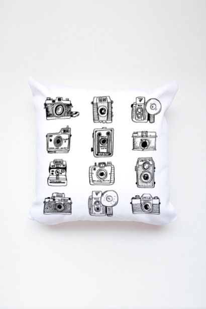Say Cheese Pillow - Photo Gifts for photographers