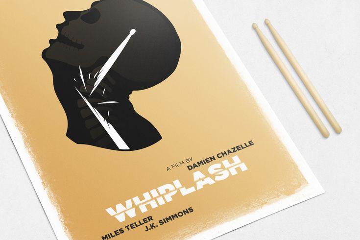 #Red #White #Poster #Print #Minimalism #Minimalist #Design #Graphic #Adrian #Iorga #Art #Wallart #Decoration #Fashion #Whiplash #Movie #Film
