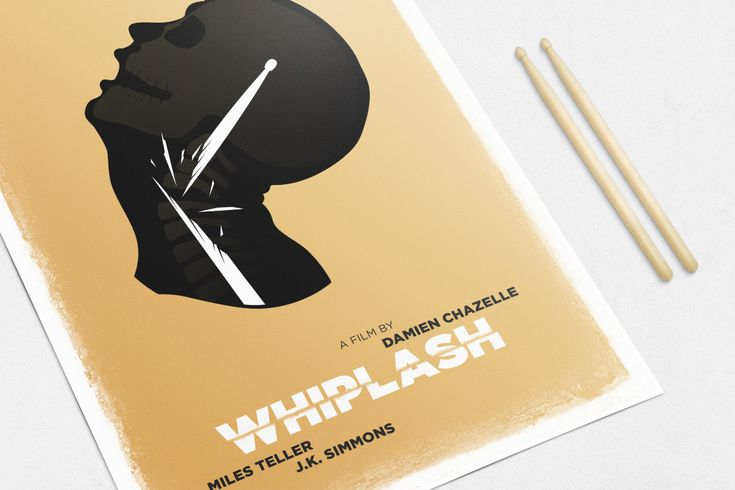 #Red #White #Poster #Print #Minimalism #Minimalist #Design #Graphic #Adrian #Iorga #Art #Wallart #Decoration #Fashion #Whiplash #Movie #Film