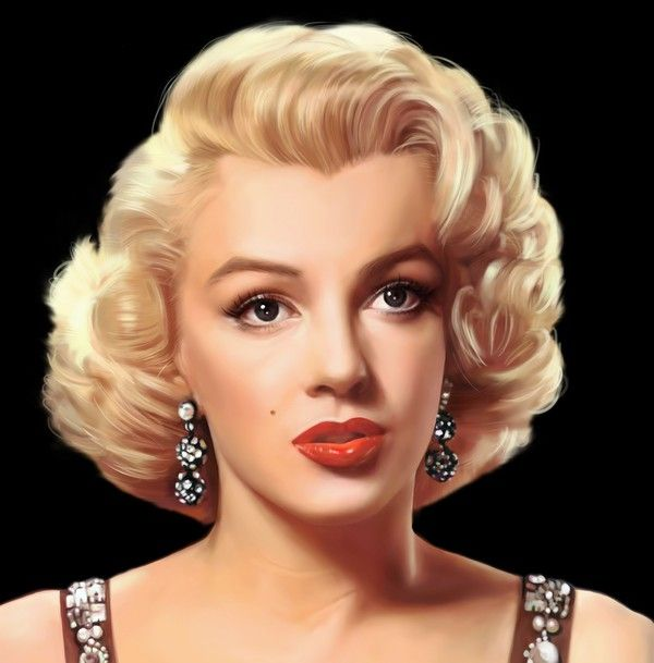 MARYLIN MONROE - best hairstyle! Love her <3
