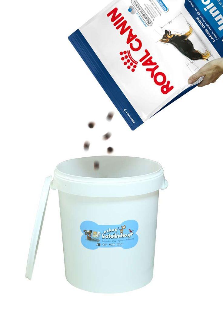 Ξηρά τροφή ROYAL CANIN MAXI ADULT 15kgr + ΔΩΡΟ δοχείο αποθήκευσης ξηράς τροφής 32lt - Super Premium - Ξηρά Τροφή - Τροφές - για Σκύλους - eshopkatoikidio.gr
