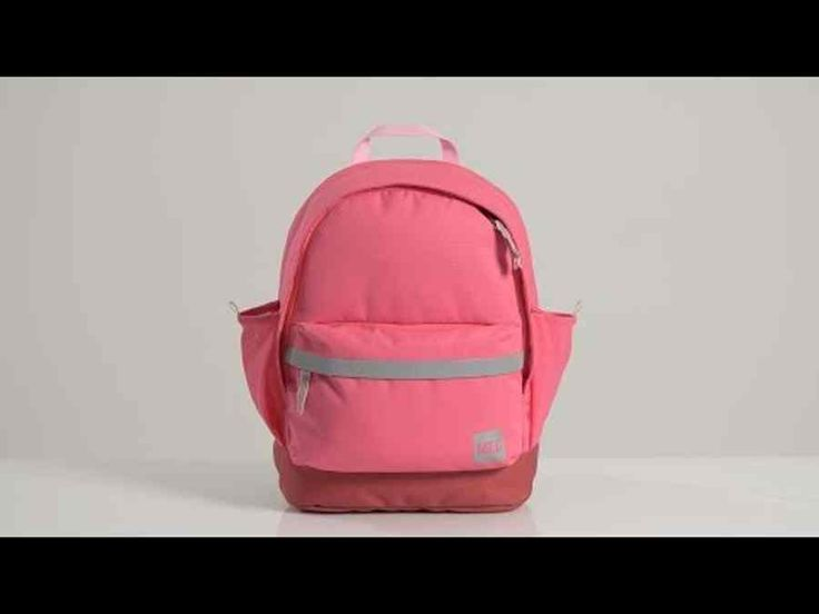 Junior Book Bag: A roomy pack for carrying library books, lunch boxes, and overnight essentials. A padded sleeve in the main compartment cradles well-used books, tablets, or delicate work