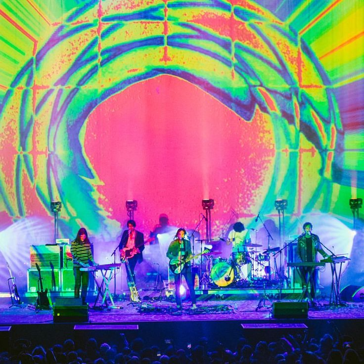 """70 Likes, 2 Comments - Decorated Youth Magazine (@decoratedyouth) on Instagram: """"Tame Impala at Berkeley Greek Theater // 📷 by @heatherhwk"""""""