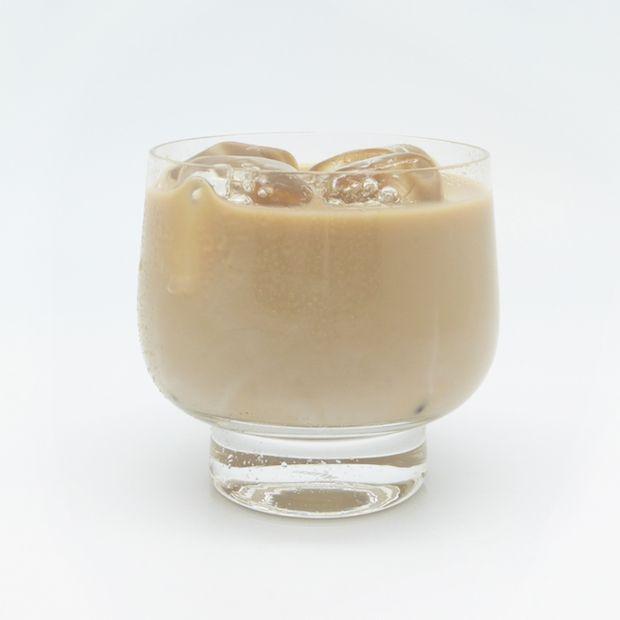 ISLAND COFFEE: 2 oz banana rum cream, 4 - 6 oz chilled black coffee