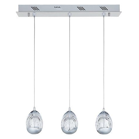 Buy John Lewis 3 Droplet LED Pendant Ceiling Light Online At Johnlewis