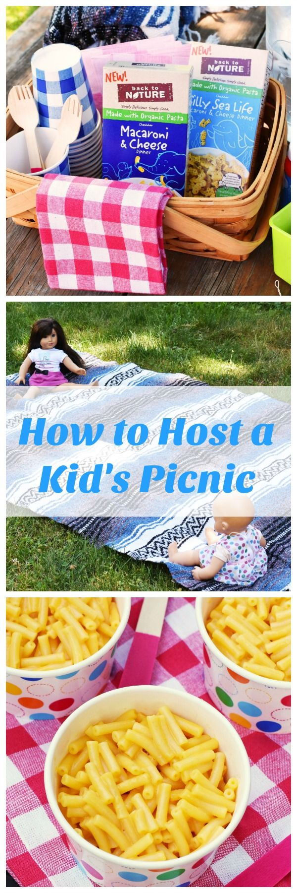 How to Host the Perfect Outdoor kid's picnic. Get some tips, ideas, and check out the perfect meal to serve! AD #BacktoPlay