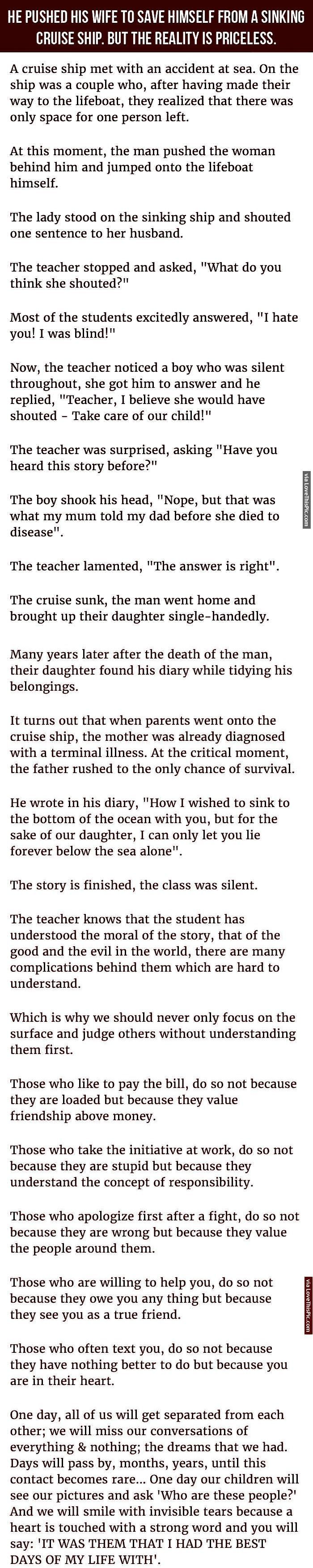 interesting family stories essay