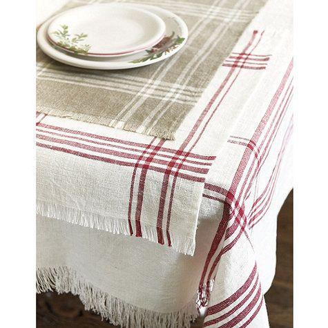 La rochelle linen table runner runners linen tablecloth and places - La table basque la rochelle ...