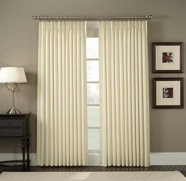 Home Pinch Pleated Curtains Crosby