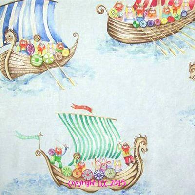 Viking Armada Small Blue