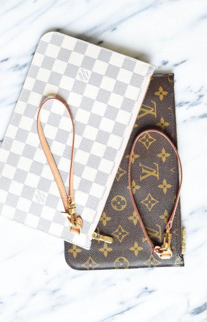 Image result for louis vuitton neverfull pochette #Louisvuittonhandbags #LouisVu… – Jana Hamann