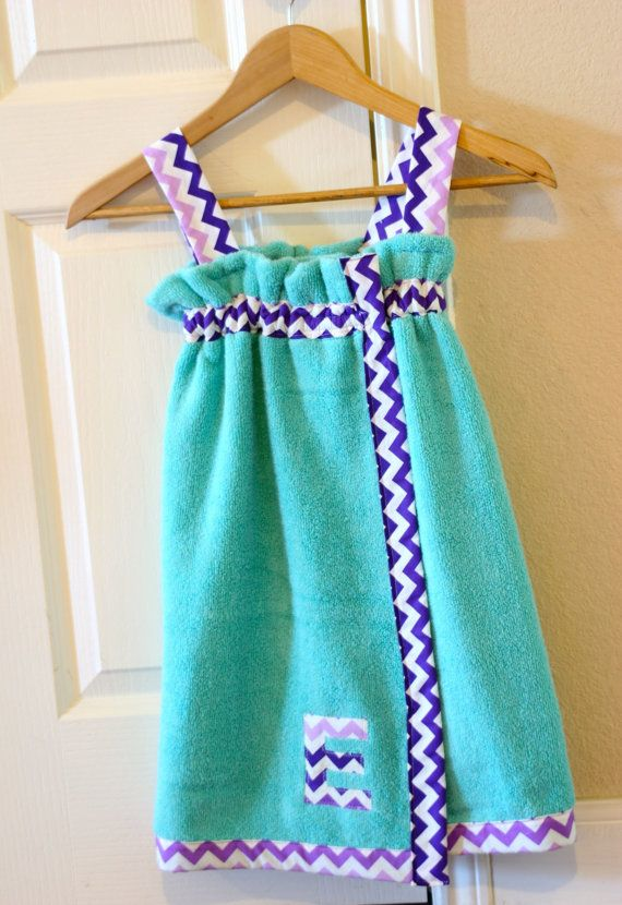 Spa wrap with strapsadult and child by TheBallayStudio on Etsy, $34.00