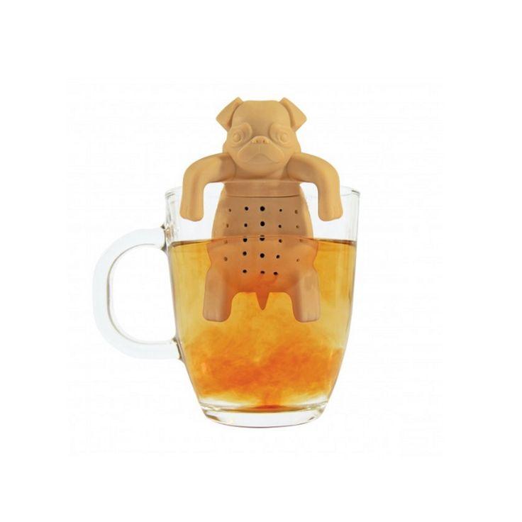 Faites de votre tasse de théla plus mignonne qui soit!Il suffit de remplir l'infuseur avec des feuilles de thé en vrac. Vous ne serez pas en mesure de résister à son adorable visage!