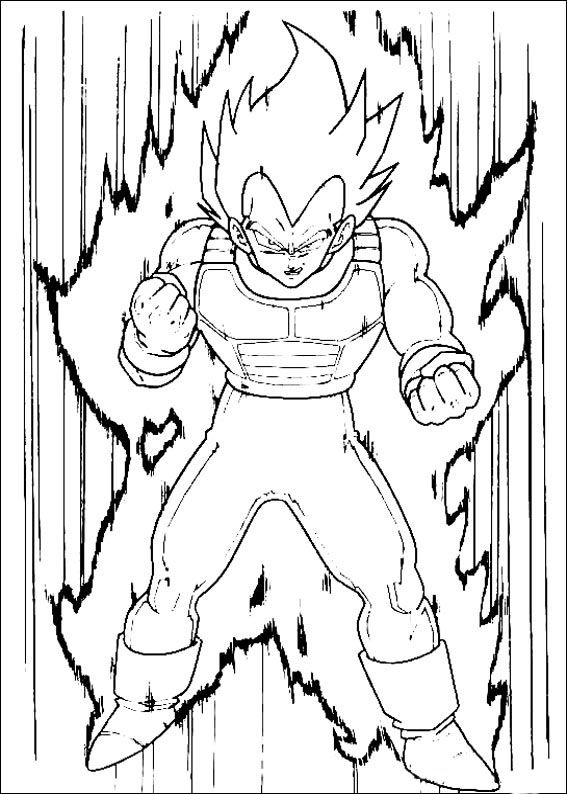 18 best DBZ Coloring Pages images on Pinterest  Dragon ball z