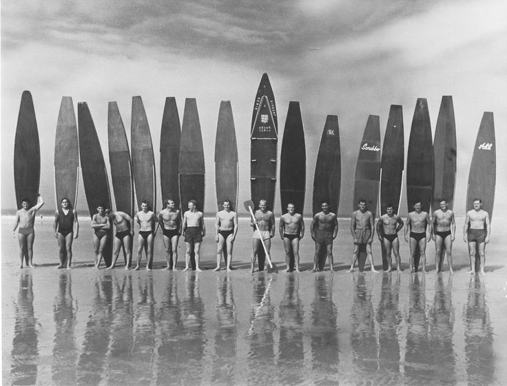 antique vintage SURF PHOTO SURFING BEACH black white  A1 poster PRINT