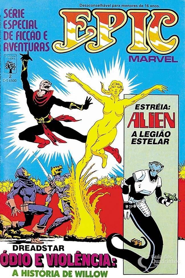 Epic Marvel n° 2/Abril | Guia dos Quadrinhos