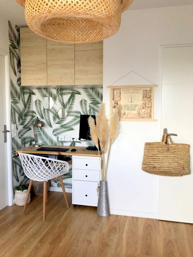 Relooking Un mini bureau à la maison