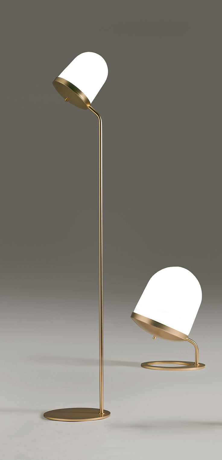 Night owl reading lamps - The Bigger Floor Lamp And Than The Smaller Interiordesign Decor Floorlamp