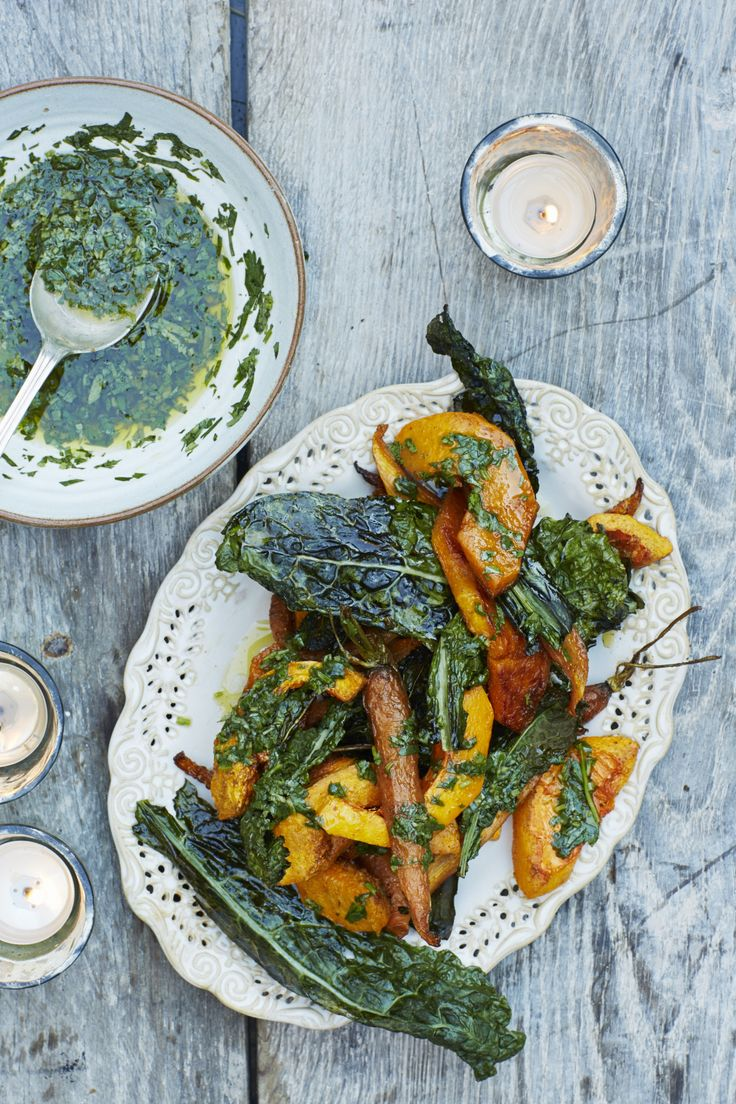 Cumin Roast Butternut And Carrot with Cavolo Nero – Honestly Healthy Food