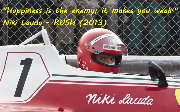 Niki Lauda - RUSH (2013)