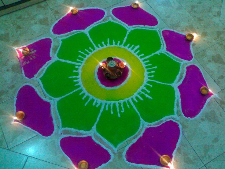 Image detail for -OXSTYLE: festival rangoli  www.oxstyle.com  folk art of india thought to bring good luck