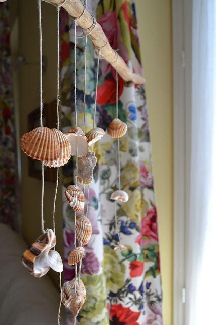 Una decorazione con le conchiglie dei ricordi - La mia vita semplice