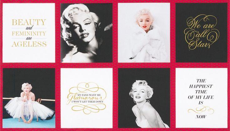 Látkové panely | Marilyn Monroe - panel | Látky UŠIMITO