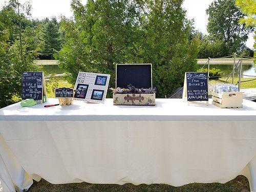 Wedding Chalkboard Sign Table
