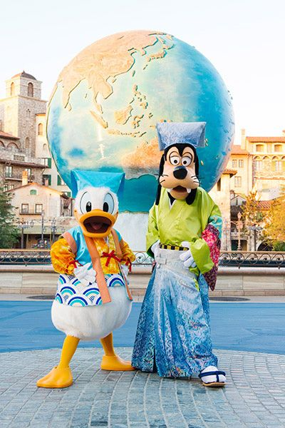 Cute Donald & Goofy!!!