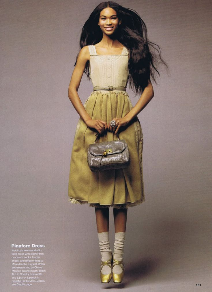 Chanel Iman for Allure September 2010 by Thomas Schenk ...