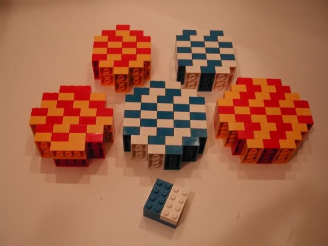 pick a brick lego cup math bottom layer is tight omit top. Black Bedroom Furniture Sets. Home Design Ideas