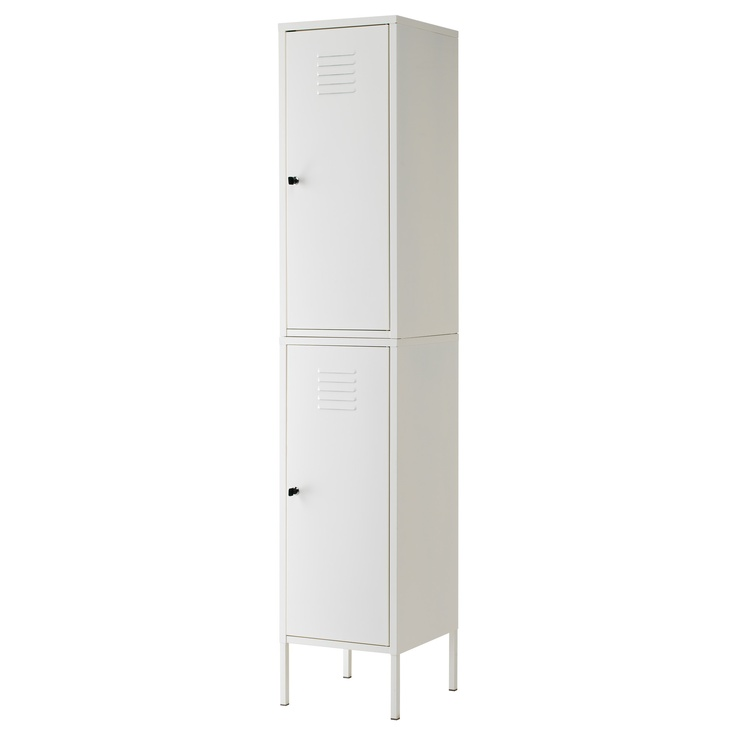 bathroom storage: Ikea PS upright cabinet