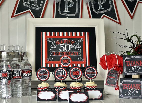 25 best ideas about 50th birthday favors on pinterest for 30th birthday decoration packages