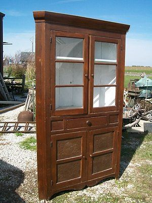 reno kitchen cabinets mid 1800 s poplar wood corner cupboard country antique 1850