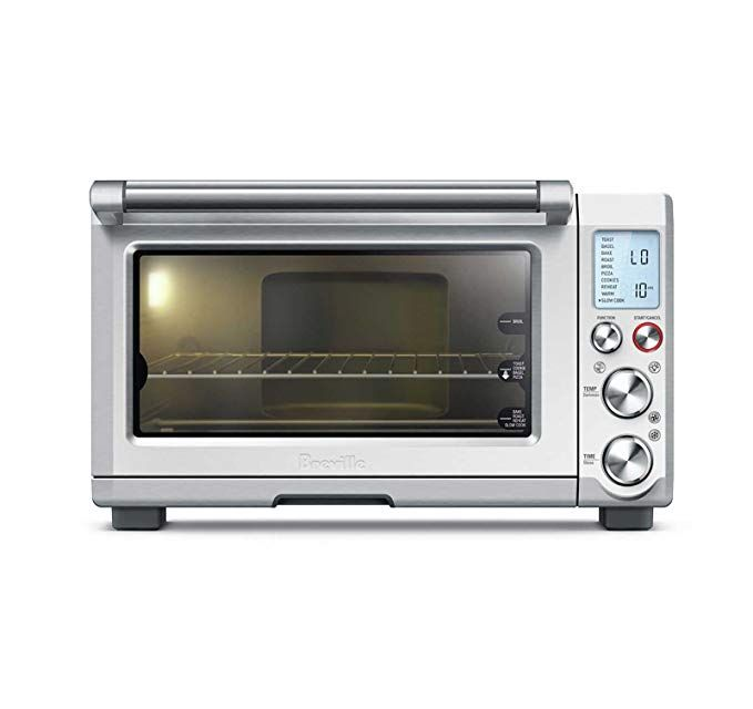 Breville Bov845bss Smart Oven Pro 1800 W Convection Toaster Oven With Element Iq Brushed Stainless Steel Smart Oven Convection Toaster Oven Countertop Oven