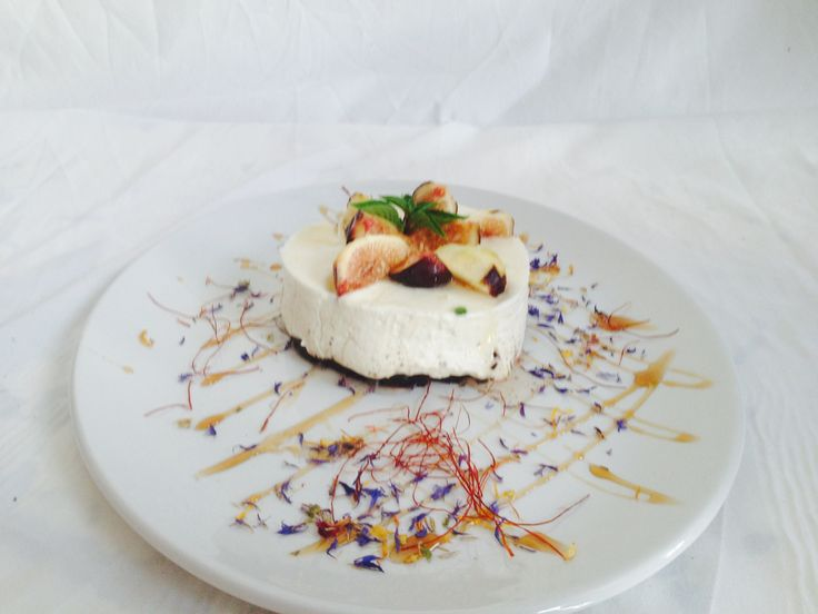 Oreo biscuit cheesecakeμε συκα | Executive Chefs Club of Greece