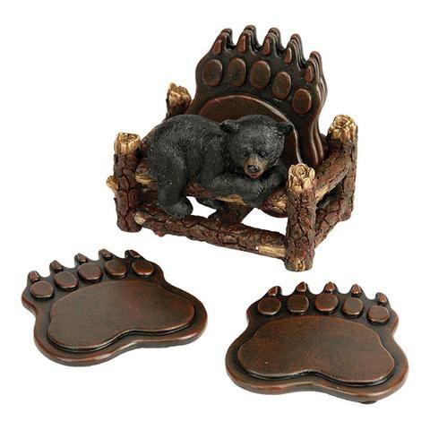 Patas de urso Coaster Set 2041