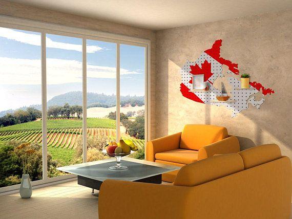 Peg Board, Peg Board Organizer, Peg Board Display, Board Storage, Wall Storage, Canada Peg Board, Wall Organizer, Canada Inspired Home Decor