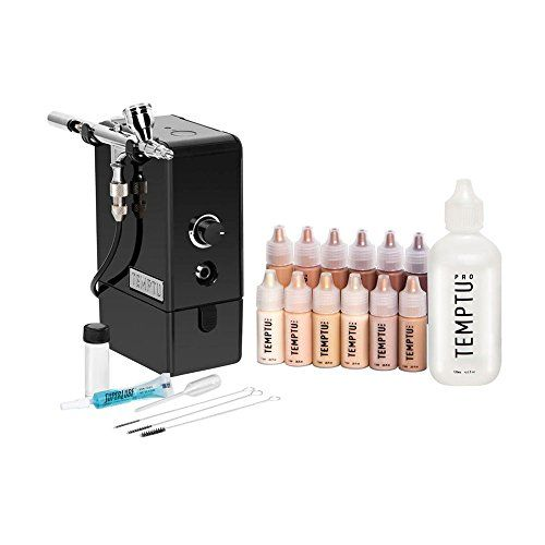 TEMPTU AIRpro Premier Airbrush Makeup Kit http://www.themakeupstyle.com/temptu-airpro-premier-airbrush-makeup-kit/